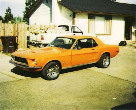 cool mustang colors madagascar orange 1968 ford mustang rainbow of colors