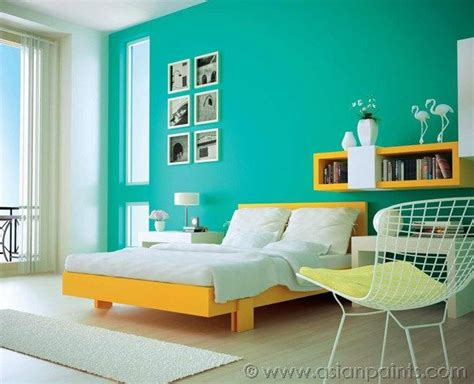 bedroom colors asian paints mustard and teal room design interior design ideas