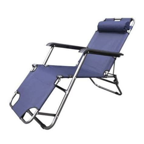 Reclining Sun Chair by Reclining Sun Bed Deck Chair With Padded Rest