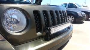 Jeep Patriot Light Bar by Jeep Patriot Front Bumper Lightbar Mount Tips