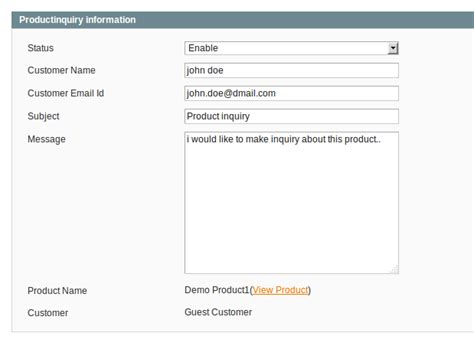 magento layout catalog product view product inquiry best premium magento extension