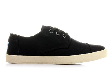 toms sneaker toms shoes paseo 10007001 blk shop for