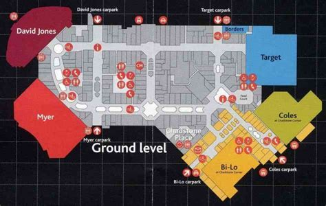 chadstone shopping centre floor plan chadstone shopping centre map holidaymapq com