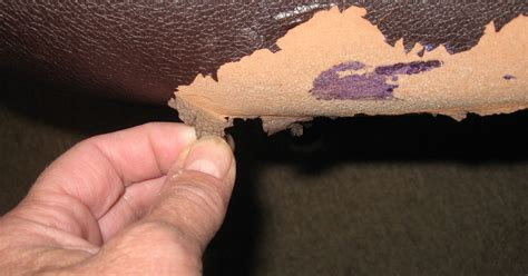 how to fix peeling faux leather couch two chairs failing is there a quot paint on quot fix for leather