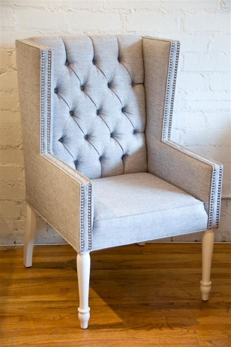 wingback dining room chairs tufted wingback dining chair with regard to the house