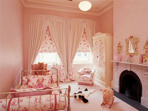 beautiful little girl bedrooms baby beautiful bedroom cream curtain image 213897
