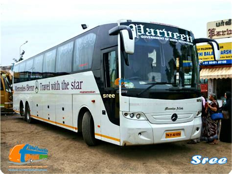 Sleeper Buses From Bangalore To Tirupati by Mercedes Tamilnadu Buses