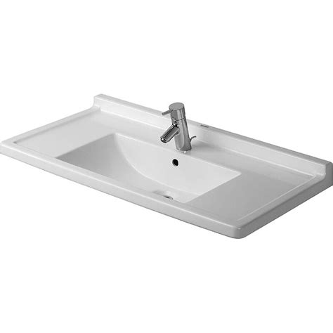 Toto Kitchen Faucets by Buy Duravit 0304800000 Furniture Washbasin 85 Cm Starck 3