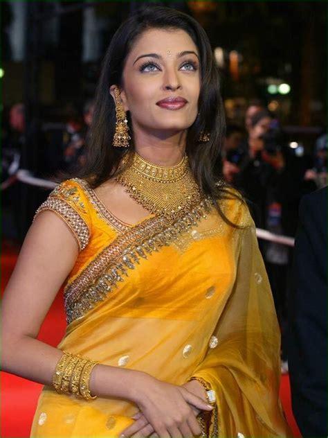 aishwarya rai sari aishwarya rai in designer saree collection5 cutstyle