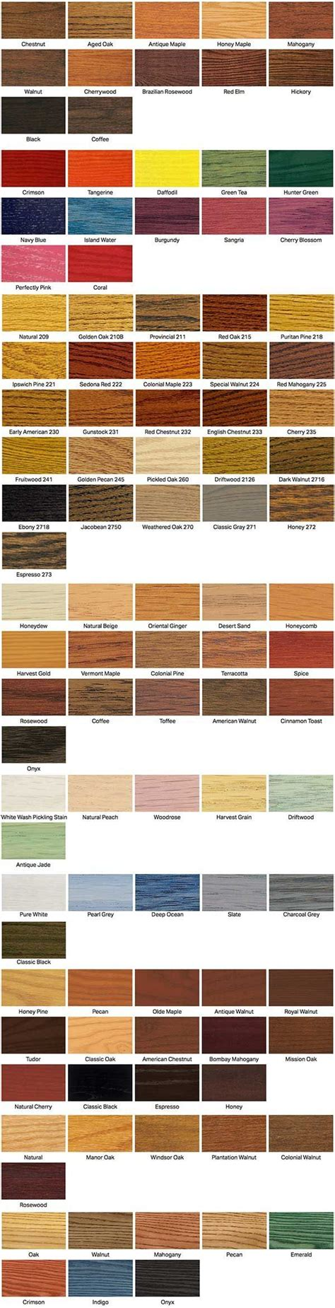minwax colors best 25 minwax stain colors ideas on stain