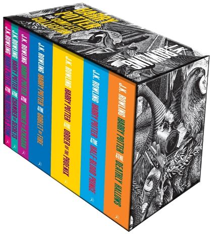 Herry Potter Complete Set Bloomsbury harry potter boxed set the complete collection paperback j k rowling bloomsbury