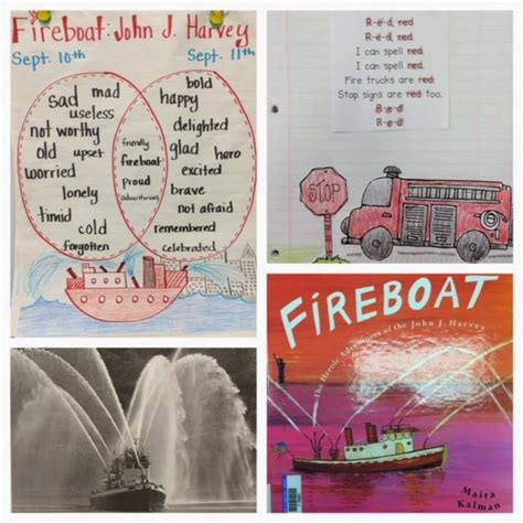 fireboat book lesson patriotic week lessons and a freebie kinderland
