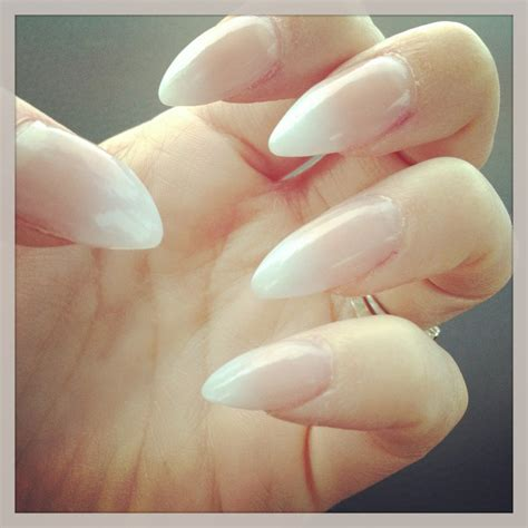 ongle en gel pointu ongles pointus gel