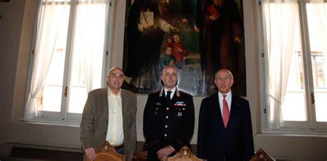 cassa di risparmio di ravenna sede centrale il comandante dei carabinieri massimo cagnazzo incontra il