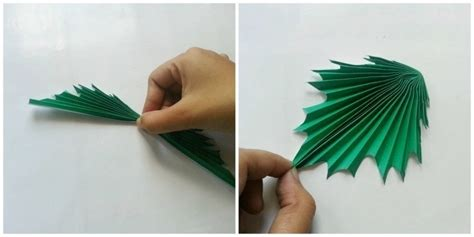 How To Make Paper Leaves - diy paper maple leaves 183 how to make a paper model