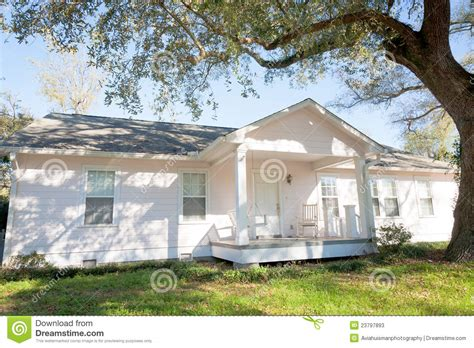 What Is A Rambler Style Home by White Ranch Style Home Stock Photos Image 23797893