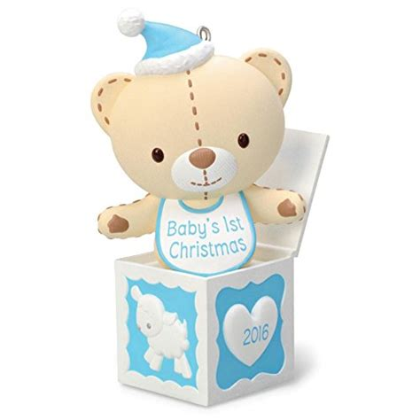 amazon hallmark 2014 babys 1st christmas one cute best baby s first christmas ornaments webnuggetz com