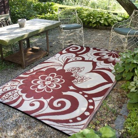 Outdoor Patio Rug Outdoor Plastic Rugs Outdoor Rugs Chicago By Home Infatuation