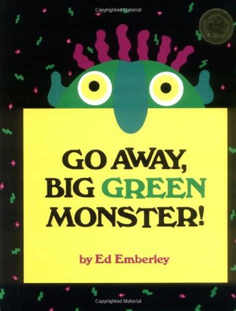 go away green halloween writing prompt for kindergarten or first grade