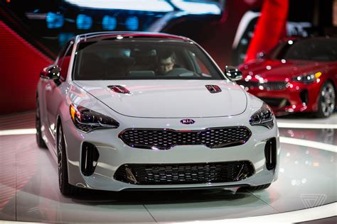 Car Kia The Kia Stinger Is A Sports Sedan That Sizzles In A Sea Of