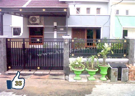 pagar rumah minimalis besi tempa alam sakti
