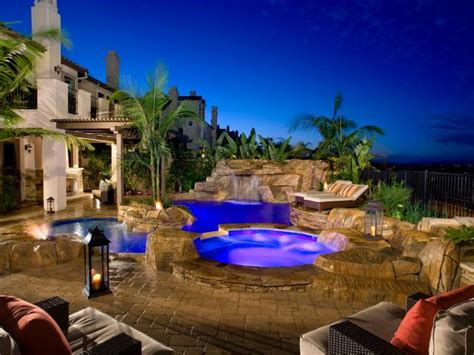 Backyard Pools Tv Show Swimming Pool Designs And Water Feature Ideas Hgtv
