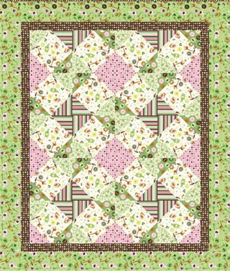 Schoolhouse Quilt Shop by Animal Crackers Quilt Kit Country Schoolhouse Quilt Shop