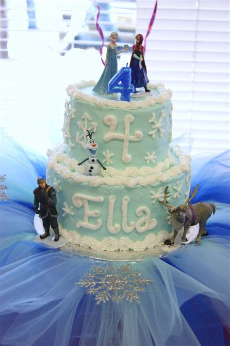 Freezer Cake ella s frozen birthday cake planning birthdays