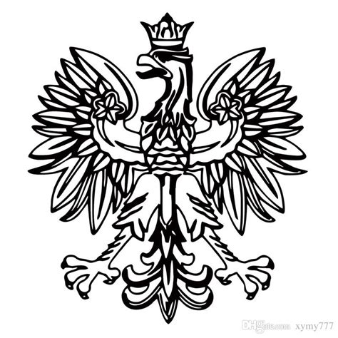 polish eagle coloring page hd wallpapers polish eagle coloring page polish eagle