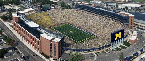 michigan big house blog fuad informasi dikongsi bersama 12 largest stadiums of the world