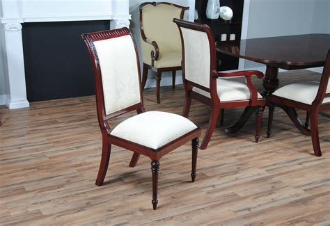regency upholstered chairs set of 10 niagara furniture tall back upholstered chairs white upholstery set of 10