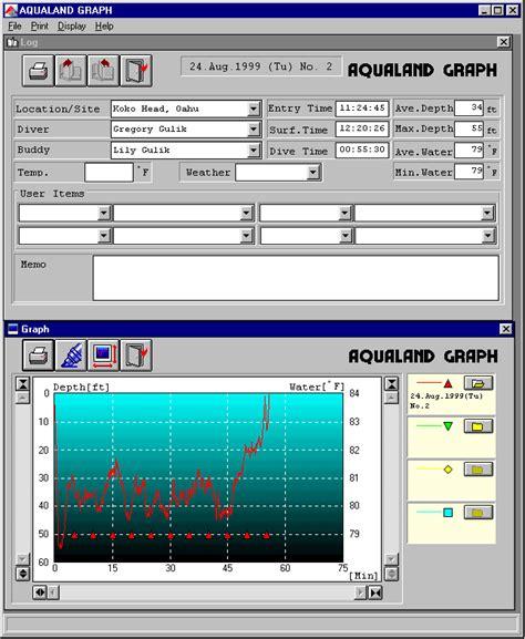 dive computer comparison diving computer software comparison
