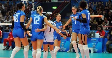 sedere femminile piu bello mondo mondiali volley 2014 le azzurre trascinano anche