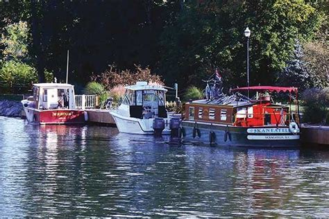 boat cruise erie canal trailerboat cruising on the erie canal boatus magazine