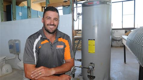 Plumbing Apprentiships by 1 000 Rheem Grant Lessens The Drain On Travelling Apprentice Plumber Central Western Daily