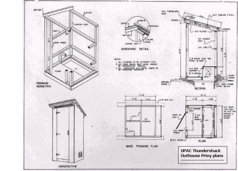 outhouse floor plans home house plans blueprints custom best free home