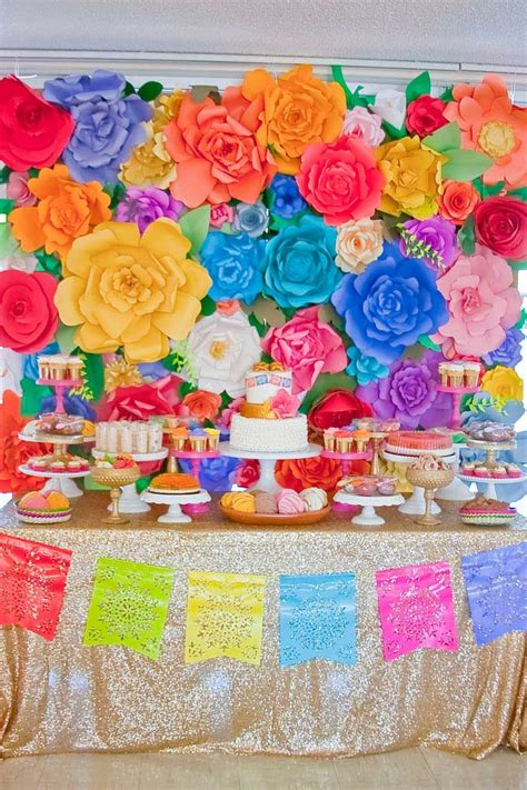 Mexican Themed Decorations by Colorful Mexican Themed Baby Shower Planning Ideas