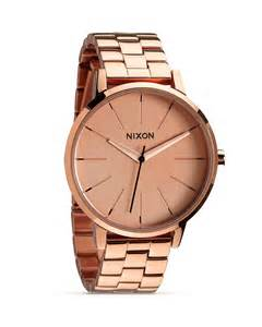 nixon the kensington all rose gold watch 36 5mm