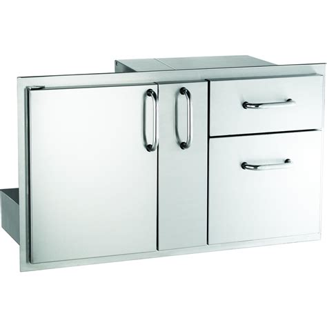 Outdoor Kitchen Doors And Drawers by American Outdoor Grill 18 Quot X 36 Quot Door W Drawer And