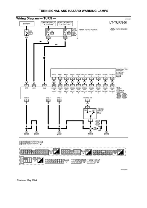 wiring diagram for hazard switch in 2001 nissan sentra