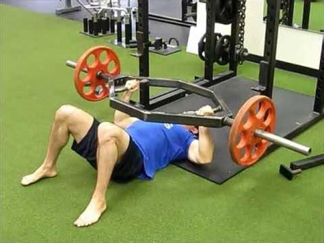 bench press shrug dead squat bar quot squeeze quot floor press youtube