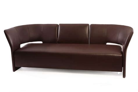 chocolate brown sofas chocolate brown leather erik jorgensen pelican sofa for