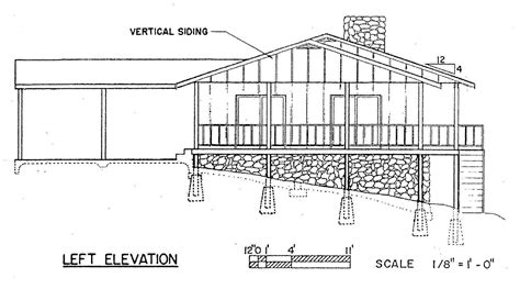free 3 bedroom ranch house plans with carport free 3 bedroom ranch house plan with porch for sloped lot