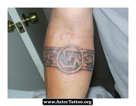aztec armband tattoo designs 30 best aztec band designs images on