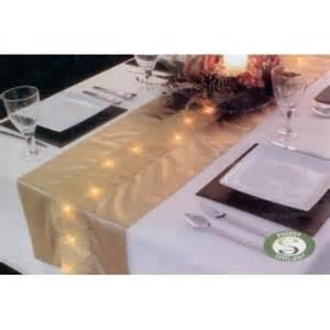 Premier decorations led lit gold table runner review