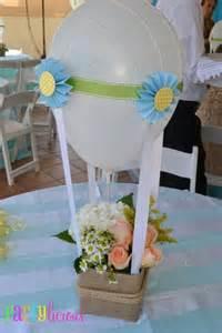air balloon table centerpieces boy s air balloon theme spaceships and laser beams