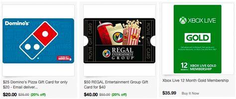 Regal Cinemas Gift Card Kroger - ebay com nice discounts on gift cards including domino s regal cinemas amc