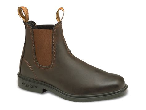 mens brown style boots stout brown premium leather chelsea boots s style 062