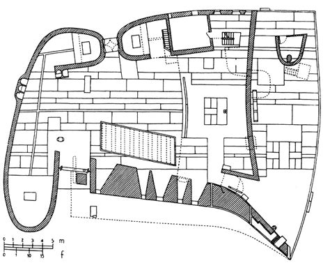 notre dame du haut floor plan plans of architecture le corbusier the chapel of notre