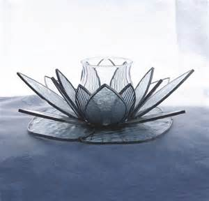 Lotus Flower Candle Holder Stained Glass Lotus Flower Candle Holder Different Types